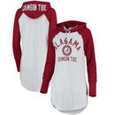Alabama Crimson Tide G-III 4Her by Carl Banks Women's All Division Pullover Hoodie - White/Crimson