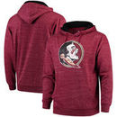 Florida State Seminoles Fanatics Branded Classic Primary Speckled Pullover Hoodie – Garnet
