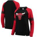 Chicago Bulls Fanatics Branded Women's Iconic Pullover Sweatshirt - Black/Red
