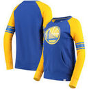 Golden State Warriors Fanatics Branded Women's Iconic Pullover Sweatshirt - Royal/Gold