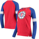 LA Clippers Fanatics Branded Women's Iconic Pullover Sweatshirt - Red/Royal