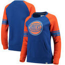 New York Knicks Fanatics Branded Women's Iconic Pullover Sweatshirt - Blue/Orange