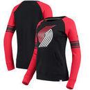 Portland Trail Blazers Fanatics Branded Women's Iconic Pullover Sweatshirt - Black/Red