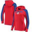 LA Clippers Fanatics Branded Women's Iconic Fleece Hoodie - Red/Royal