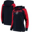 Washington Wizards Fanatics Branded Women's Iconic Fleece Hoodie - Navy/Red