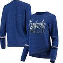 Kentucky Wildcats Colosseum Women's Birdie Pullover Sweatshirt - Royal
