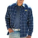 La Salle Explorers Brewer Flannel Long Sleeve Shirt - Navy