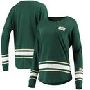 Colorado State Rams Colosseum Women's All Around Oversized Long Sleeve T-Shirt - Green