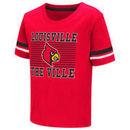 Louisville Cardinals Colosseum Todler Qualifier T-Shirt - Red