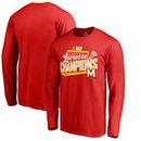 Maryland Terrapins Fanatics Branded 2017 Big Ten Women's Lacrosse Champions Long Sleeve T-Shirt - Red