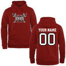 Troy University Trojans Fanatics Branded Personalized Football Pullover Hoodie - Cardinal
