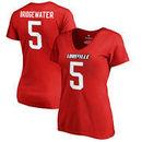 Teddy Bridgewater Louisville Cardinals Fanatics Branded Women's College Legends T-Shirt - Red