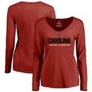 South Carolina Gamecocks Fanatics Branded Women's Custom Sport Long Sleeve T-Shirt - Maroon