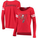 Tampa Bay Buccaneers Touch by Alyssa Milano Women's Free Agent Long Sleeve T-Shirt – Red