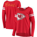 Kansas City Chiefs Touch by Alyssa Milano Women's Free Agent Long Sleeve T-Shirt – Red