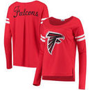 Atlanta Falcons Touch by Alyssa Milano Women's Free Agent Long Sleeve T-Shirt – Red