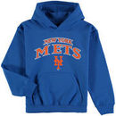 New York Mets Stitches Youth Team Fleece Pullover Hoodie - Royal