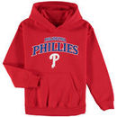 Philadelphia Phillies Stitches Youth Team Fleece Pullover Hoodie - Red