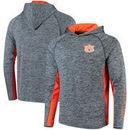 Auburn Tigers Colosseum Upstart Long Sleeve Hooded T-Shirt - Heathered Navy