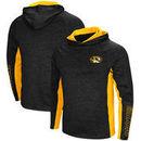 Missouri Tigers Colosseum Upstart Long Sleeve Hooded T-Shirt - Heathered Black