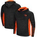 Oregon State Beavers Colosseum Upstart Long Sleeve Hooded T-Shirt - Heathered Black