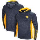 West Virginia Mountaineers Colosseum Upstart Long Sleeve Hooded T-Shirt - Heathered Navy
