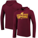 Central Michigan Chippewas adidas Mark My Words Pullover Hoodie - Maroon