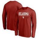 Oklahoma Sooners Fanatics Branded True Sport Baseball Long Sleeve T-Shirt - Cardinal