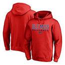 Ole Miss Rebels Fanatics Branded True Sport Baseball Pullover Hoodie - Red