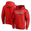 Texas Tech Red Raiders Fanatics Branded True Sport Baseball Pullover Hoodie - Red