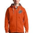 UTEP Miners Antigua Victory Full-Zip Hoodie - Orange
