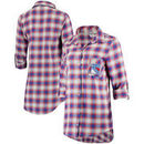 New York Rangers Women's Forge Long Sleeve Nightshirt - Blue/Red