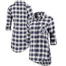 Washington Huskies Concepts Sport Women Forge Rayon Flannel Long Sleeve Button-Up Shirt - Purple/Black