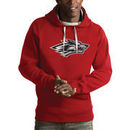 New Mexico Lobos Antigua Victory Pullover Hoodie - Red