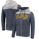 Los Angeles Chargers Antigua Exertion Full-Zip Hoodie - Navy/Silver