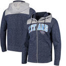 Tennessee Titans Antigua Exertion Full-Zip Hoodie - Navy/Silver