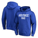 Air Force Falcons Fanatics Branded Big & Tall Team Dad Pullover Hoodie - Royal