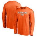 Oklahoma State Cowboys Fanatics Branded Team Dad Long Sleeve T-Shirt - Orange