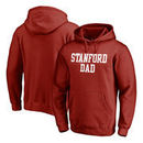 Stanford Cardinal Fanatics Branded Team Dad Pullover Hoodie - Cardinal