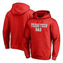 Texas Tech Red Raiders Fanatics Branded Team Dad Pullover Hoodie - Red