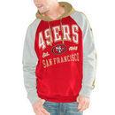 San Francisco 49ers Hands High Lifestyle Closer Pullover Hoodie - Scarlet/Gold