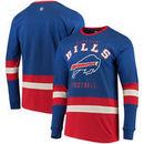 Buffalo Bills G-III Sports by Carl Banks Even Strength Long Sleeve T-Shirt – Royal/Red