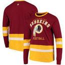 Washington Redskins G-III Sports by Carl Banks Even Strength Long Sleeve T-Shirt – Burgundy/Gold