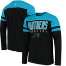 Carolina Panthers Hands High Lifestyle Playoff Long Sleeve T-Shirt - Black/Blue