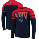 New England Patriots Hands High Lifestyle Playoff Long Sleeve T-Shirt - Navy/Red