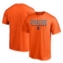 Syracuse Orange Fanatics Branded Big & Tall True Sport Lacrosse T-Shirt - Orange