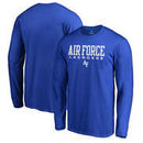 Air Force Falcons Fanatics Branded True Sport Lacrosse Long Sleeve T-Shirt - Royal