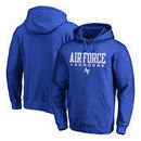 Air Force Falcons Fanatics Branded True Sport Lacrosse Pullover Hoodie - Royal