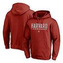 Harvard Crimson Fanatics Branded True Sport Lacrosse Pullover Hoodie - Cardinal