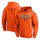 Syracuse Orange Fanatics Branded True Sport Lacrosse Pullover Hoodie - Orange